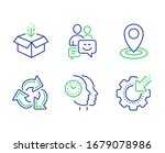location  get box and...   Shutterstock . vector #1679078986