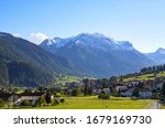 Landscape Of Val Mustair In...