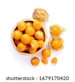 Cape Gooseberry Isolated On...