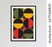 mid century print  modern...   Shutterstock .eps vector #1679268820