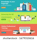 online education web design...