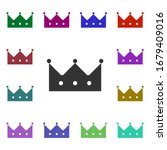 royal crown multi color style...
