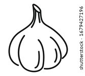 bulb garlic icon. outline bulb...   Shutterstock .eps vector #1679427196