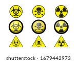 a set of poison icons | Shutterstock .eps vector #1679442973