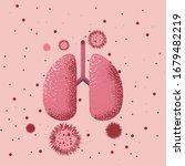 covid 19 coronavirus attacks...   Shutterstock .eps vector #1679482219