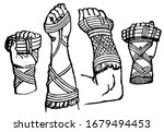 cestus are worn by roman... | Shutterstock .eps vector #1679494453