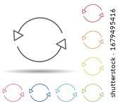 refresh outline in multi color...