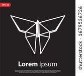 Geometric Butterfly Logo....