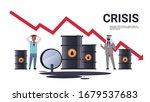 mix race businessmen frustrated ... | Shutterstock .eps vector #1679537683