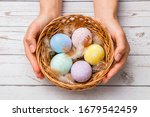 Easter Concept. Closeup...