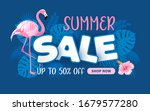 advertising banner about summer ... | Shutterstock .eps vector #1679577280