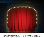 Dark Empty Cabaret Or Comedy...