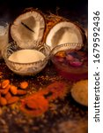 Complete Face Mask Of Coconut ...
