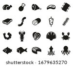 meat   seafood icons black  ... | Shutterstock .eps vector #1679635270