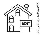 rental of property black line...