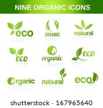 nine organic icons for...