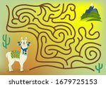 maze game for kids and adults....   Shutterstock .eps vector #1679725153