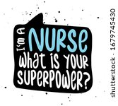 i am a nurse  what is your... | Shutterstock .eps vector #1679745430