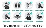 preventive measures icons for... | Shutterstock .eps vector #1679781553