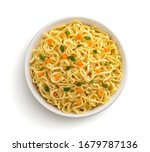 Instant Noodles With Vegetable...