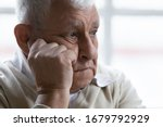Old Man Feeling Disappointed ...
