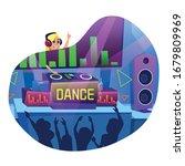 advertising banner in written...   Shutterstock .eps vector #1679809969