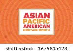 asian pacific american heritage ... | Shutterstock .eps vector #1679815423