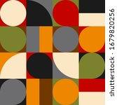 trendy pattern wallpaper.... | Shutterstock .eps vector #1679820256