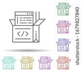 open source code multi color...