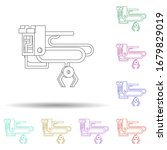colored loader multi color icon....