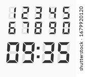 electronic figures. digital... | Shutterstock .eps vector #1679920120