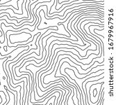 topographic map contour vector... | Shutterstock .eps vector #1679967916