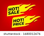 hot sale and hot price fire... | Shutterstock .eps vector #1680012676