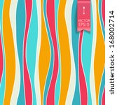 vector seamless pattern with... | Shutterstock .eps vector #168002714