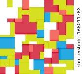 seamless abstract geometric...   Shutterstock . vector #168011783