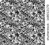 floral seamless pattern.... | Shutterstock . vector #168012170