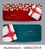 happy mothers day cards banners ... | Shutterstock .eps vector #1680132919