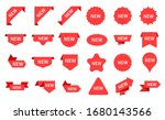 new arrival stickers. elegant... | Shutterstock .eps vector #1680143566