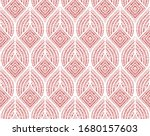 The Geometric Pattern With Wavy ...