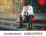 people unemployed businessman... | Shutterstock . vector #1680159553