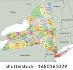 new york   highly detailed...   Shutterstock .eps vector #1680161029