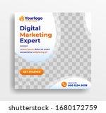 digital marketing business... | Shutterstock .eps vector #1680172759