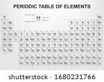 periodic table of the elements... | Shutterstock .eps vector #1680231766