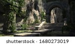 Ruins Of The Sacred Temple With ...