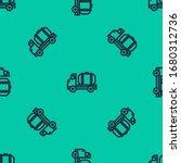blue line tanker truck icon... | Shutterstock .eps vector #1680312736