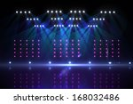 cool nightlife lights | Shutterstock . vector #168032486