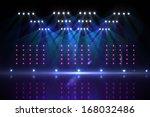 cool nightlife lights   Shutterstock . vector #168032486