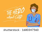 doctor vector illustration with ... | Shutterstock .eps vector #1680347560