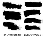 vector brush stroke. grunge... | Shutterstock .eps vector #1680399013