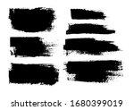 vector brush stroke. grunge... | Shutterstock .eps vector #1680399019